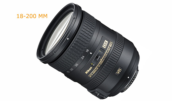 Zooming Lens For Nikon D3200