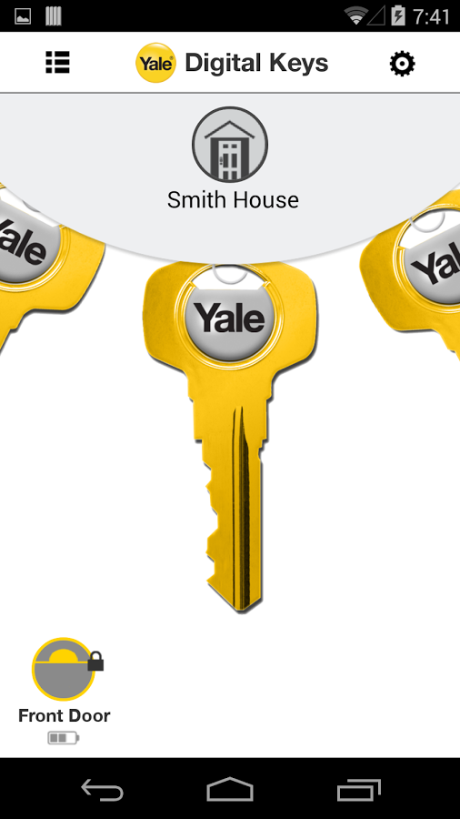 Yale ENTR: Opening The Front Door Via Smartphone