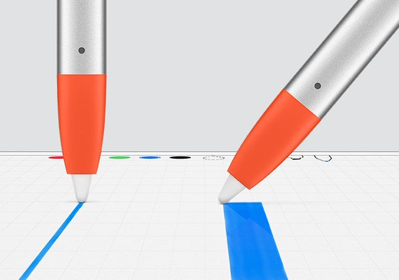 Which stylus tip is suitable for a tablet?
