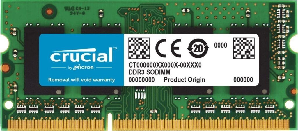 CRUCIAL 2GB DDR3L RAM With 1600MHz Best DDR3L Ram For Laptop
