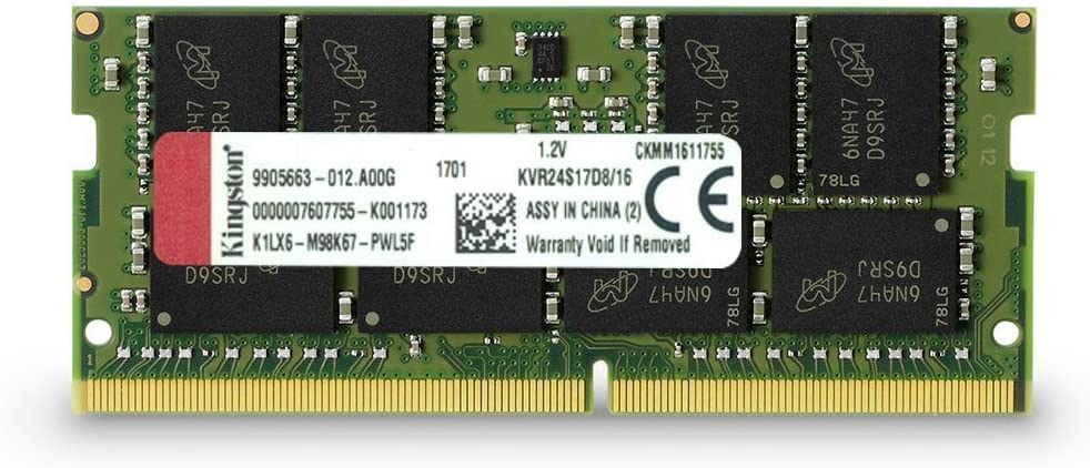 KINGSTON VALUERAM 16GB DDR4 RAM 2400MHz