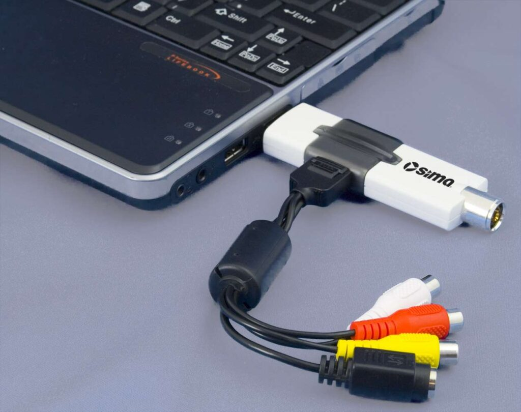 How To Connect Tv Tuner To Laptop