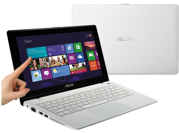 Netbook with touchscreen Asus X200CA.